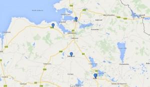 Venues Pilates classes Sligo and Roscommon