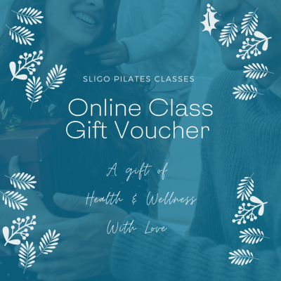 Christmas Gift Certificate Sligo Pilates